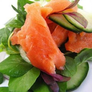 Smoked Salmon Strips