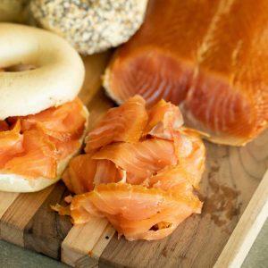 Cold Smoked Salmon Norwegian - slices